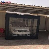 Портативный надувная капсула автомобиля витрина спрей стенд палатки, 5*2,8*2 м Надувной бокс для машины палатка для продажи