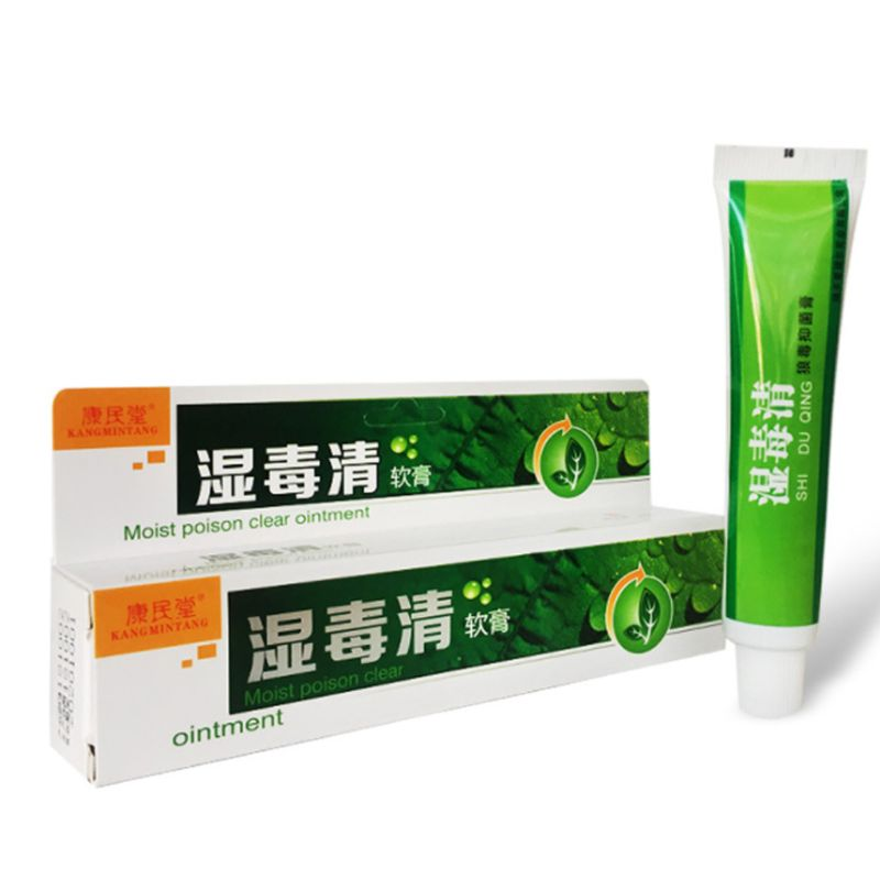 25g Natural Chinese Herbal Eczema Ointment Psoriasis Itching Cream Pruritus Dermatitis Treatment Skin Care Medical Plaster