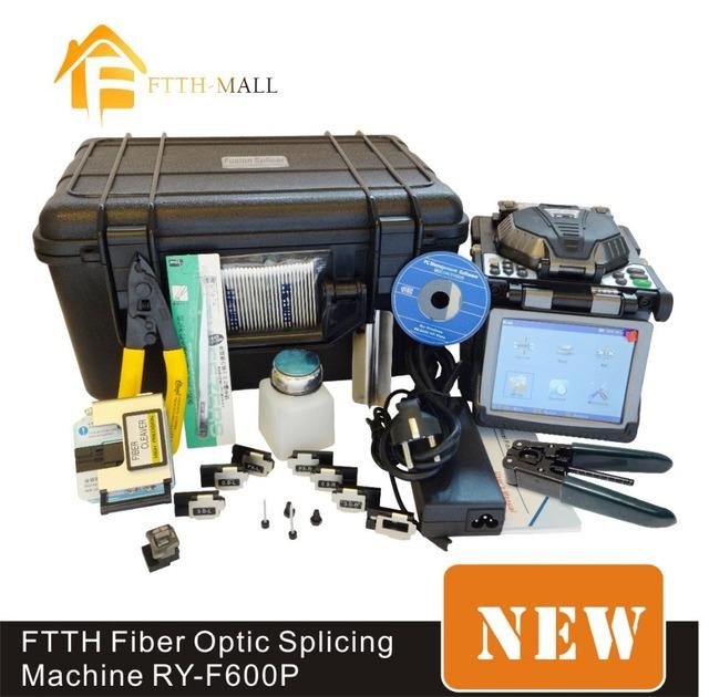 Original Ruiyan RY-F600P FTTH fibra óptica emenda máquina de fusão