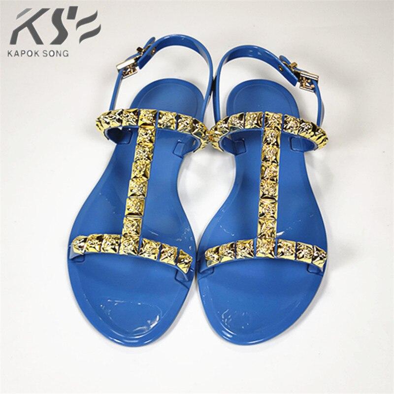 498a5d47b96b08 2018 Revit slide sandals women luxury designer summer beanch slipper lady  shoes V flats slippers women fashion design