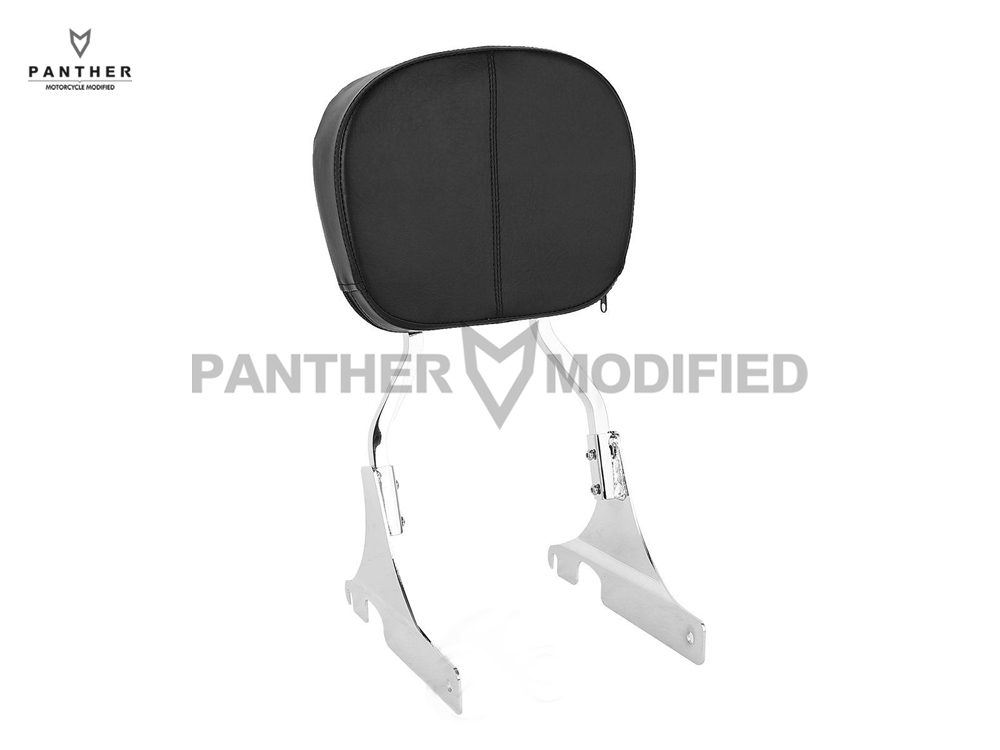 Motorcycle Detachable passenger Backrest Sissy Bar Moto Rear decoration case for Harley Dyna Street Bob Super Glide Low Rider rst 001 bk black aluminum rear seat mounting tab cover for harley sportster dyna softail street glide street bob touring