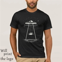 Gothic Alien UFO Black T-shirt Galaxy Print Star Wars Hipster Indie Swag  Dope Pastel Goth Clothing Hype Mens Womens 9ac9caef4be4