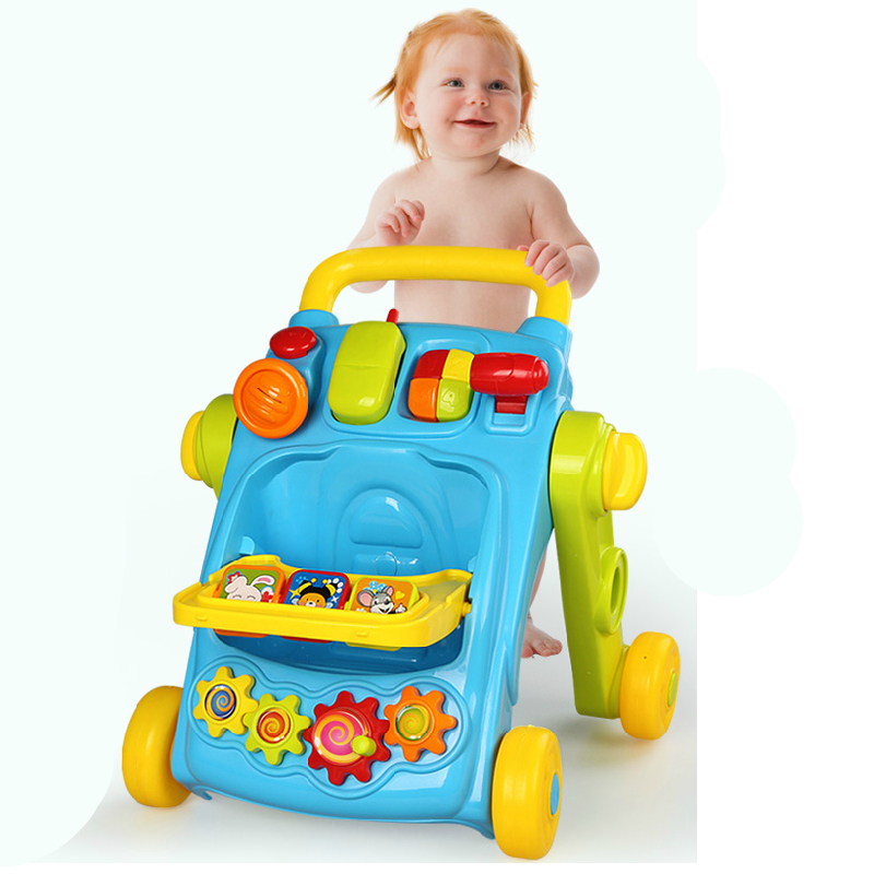 Baby Walker Musical lion Educational Learning Toy