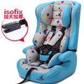 Asiento de coche de seguridad para niños de coche de bebé asiento de seguridad para niños ISOFIX certificación 3C interfaz para el automóvil