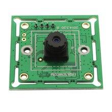 640*480P 300K pixels VGA USB2.0 OmniVision OV7725 Color CMOS Sensor Board USB Camera with M7 45degree lens