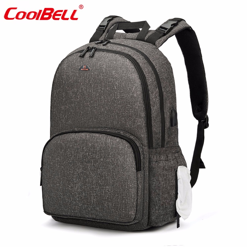 2018 Fashion Maternity Bag Baby Diaper Bag Multifunctional Nappy Bag Backpack With Changing Pad Casual Travel