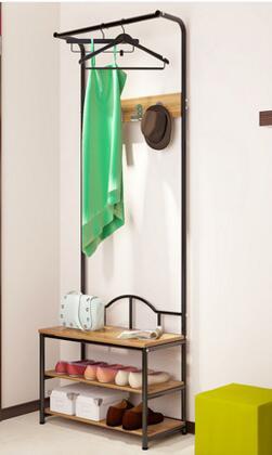 Coatrack. Landing racks. Shoe rack bedroom clothes rack. Multi-function. Dryer