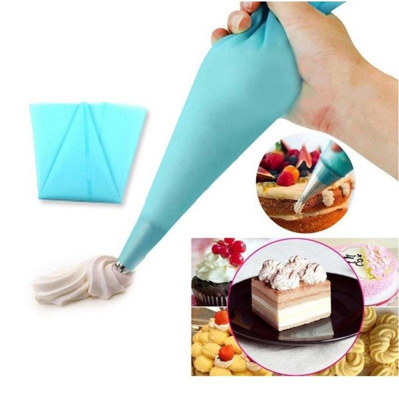 1Set 6Pcs Nozzles Stainless Steel Cake Decoration Cream Tips DIY Cake Tool Bakeware Set Rose Flowers