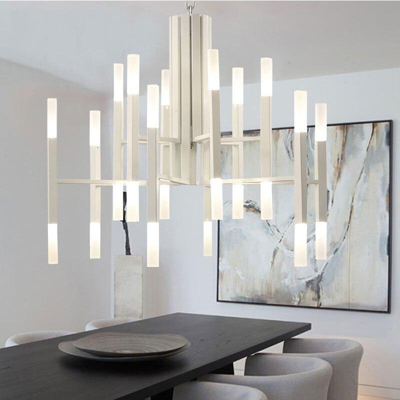 Personality design Modern chandelier lighting For Living Room Gold/black Home Decor chandelier lighting vintage