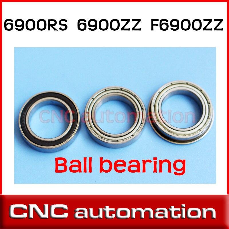 5pcs 6900 Zz 10x22x6 Metric Thin Section Bearings 61900z