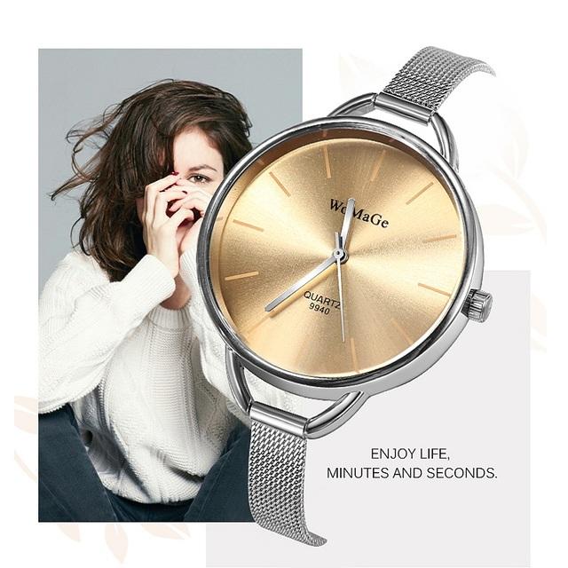 Relojes de moda para Mujer, Reloj de Mujer de cuarzo, Reloj de pulsera para Mujer