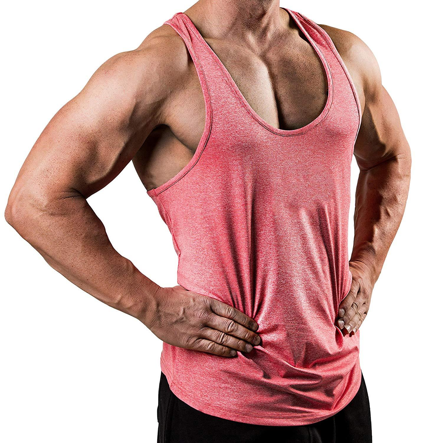 New Fitness clothing blank sleeveless mens gyms stringer   tank     top   bodybuilding tanktop men sportwear undershirt fashion vest