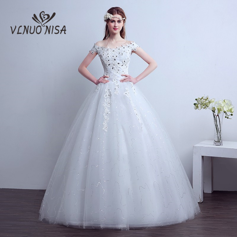 Aliexpress.com : Buy Ball Gowns Off The Shoulder White