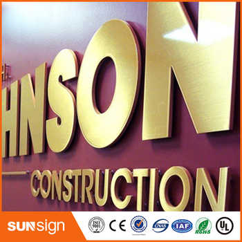 China supplier 3d led stainless steel metal letter sign - SALE ITEM All Category