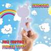 New Finger unicorn Interactive Baby Unicorn Mini Interactive Finger sloth Smart Finger monkey Smart Unicorn Toys Christmas Gift