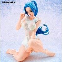 One Piece Figure Nefeltari Vivi Prince Action Figure POP Ver BB Bikini Sexy Figure Anime 14 CM PVC Action Figure Doll Toys
