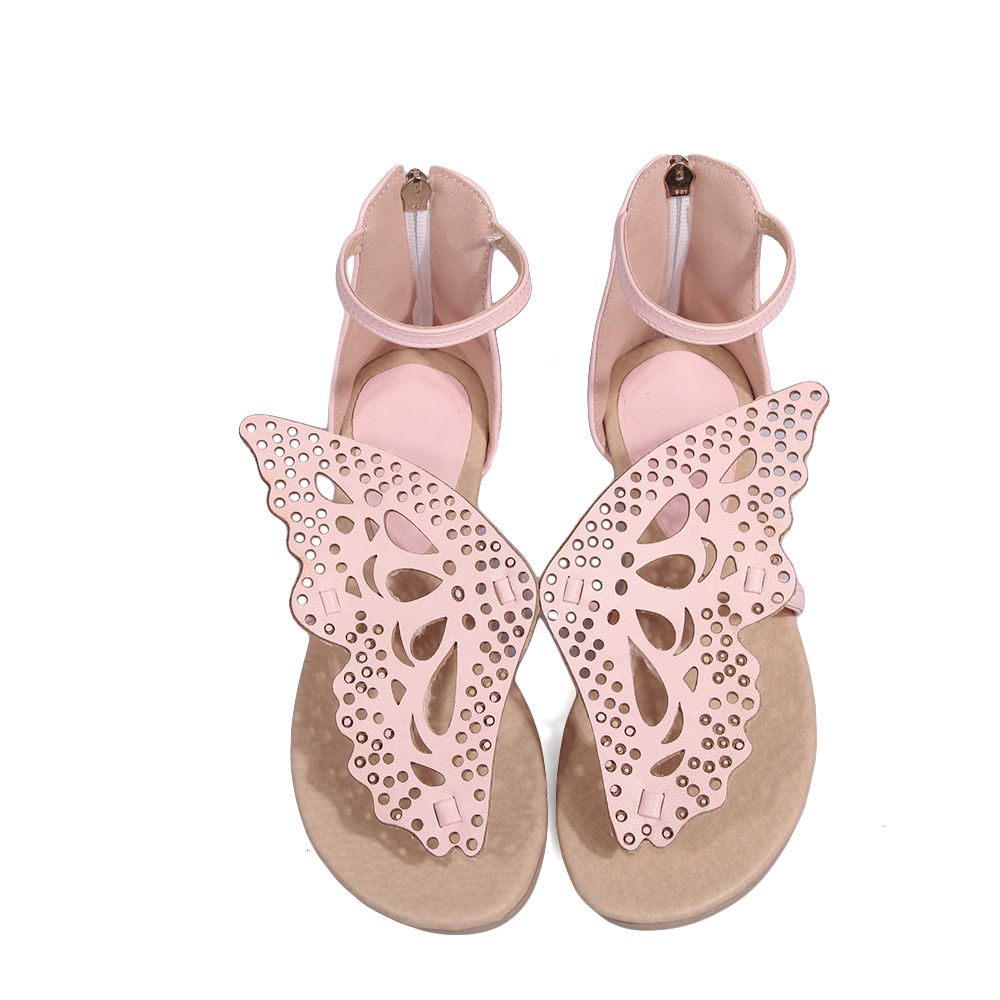 2017 New Mujer Ladies shoes fashion casual big and small Size 30-48 Women Sandals Summer Style Chaussure Femme Flat shoes A-211 big size 32 43 brand new 2016 summer sandals for women rhinestone casual retro sweet ladies fashion leisure shoes flat sandals