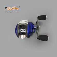 Hot Sale! MD200LA 10+1BB Ball Bearings Right Hand Baitcasting Sea Carp Fishing Reel 6.3:1 Lures Tackle  Blue color fly fishing