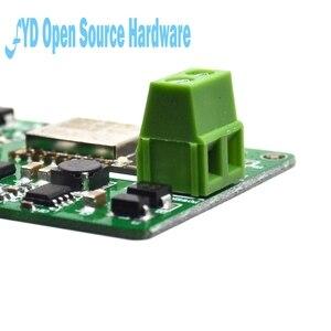 Image 4 - 1 sztuk 1 kanał New Arrival 1 sztuk zielony ESP8266 10A 220V przekaźnik sieciowy moduł WIFI wejście DC 7V ~ 30V 65x40x18mm moduły
