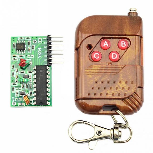 2262/2272 4 CH 315Mhz Key Wireless Remote Control Kits Receiver module For arduino #2