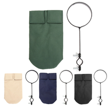 Percussion Instruments Drumstick Holder Bag Case with Support Bracket Clip On Stand Percussion Drum Sticks Cases 4 Colors