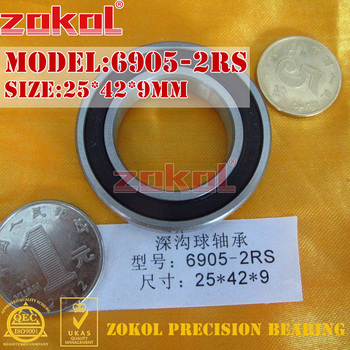 ZOKOL 6905 RS bearing 2RS ZZ 6905ZZ Z1 Deep Groove ball 25*42*9mm - discount item  48% OFF Hardware