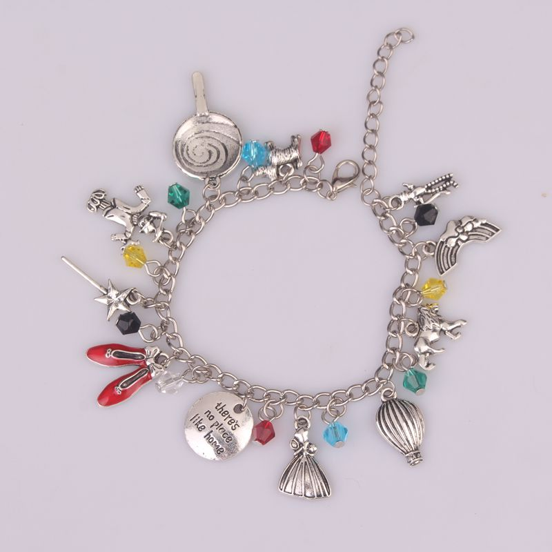 There Is No Place Like Home Bracelet for Women 1pc a Lot The Wizard of Oz Bracelet Bangle