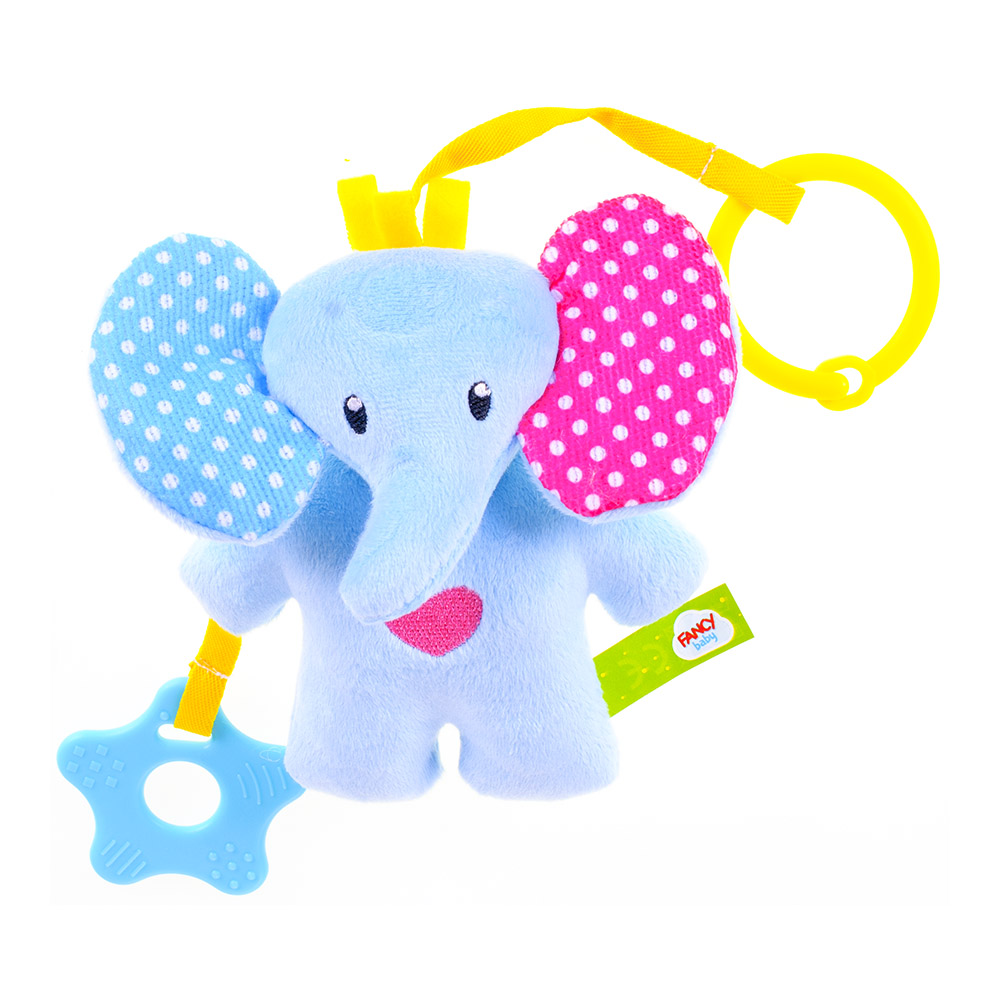 Baby Rattles & Mobiles DREAM MAKERS SLON0 Educational Bed Bell Soft Toys Game Games Stroller Toy for boys girls Kids Newborn soft plush toy 40cm cute giant stuffed elephant for baby