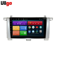 9 inch Octa Core Android 8.1 Car DVD GPS for Toyota Land Cruiser 100 LC100 Lexus LX470 Car Head Unit with BT RDS WIFI MirrorLink
