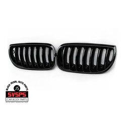 Wysokiej jakości przedni środkowy grill ABS z pojedynczą listwą do BMW X3 E83 2003-2006 rok