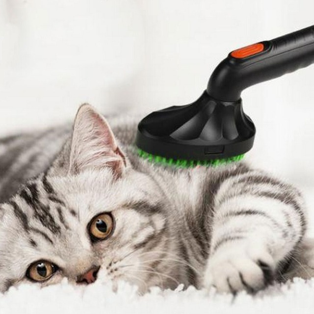 Pet Brush Pets Cat Dog Vacuum Cleaner Nozzle Attachment Hair Grooming Tool