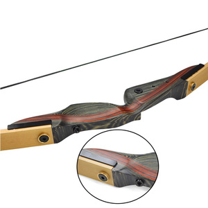 Image 5 - 1 Set Ile 62 inch okçuluk olimpik yay Sabitleyici 25 50lbs Beraberlik Ağırlık Sağ El Atıp av yayı Çekim Avcılık Aksesuarları