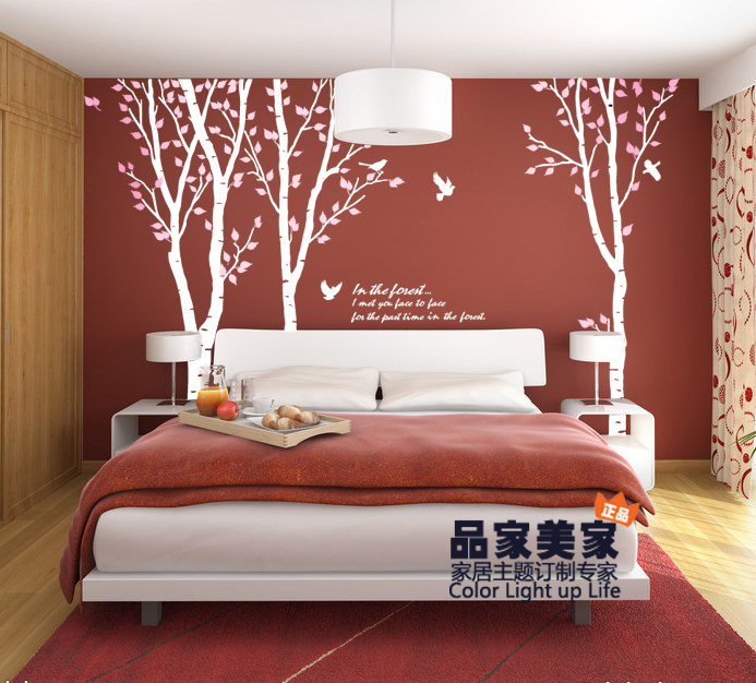 Wall stickers large kids trees wall stickers large tree for 8 sheet giant wall mural