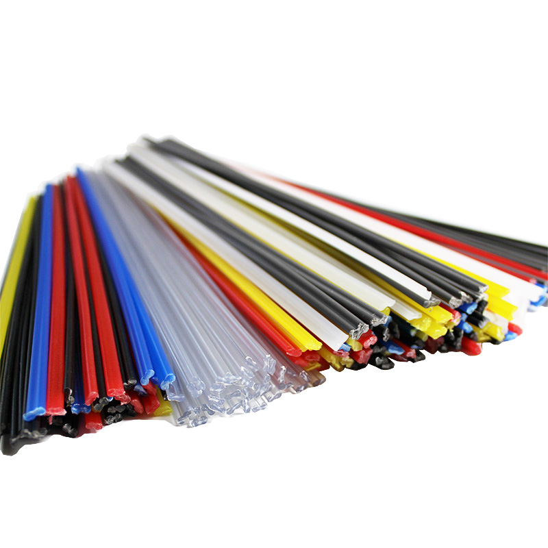 ABS/PP/PE/PPR/PVC Plastic Welding Rods Soldering Electrodes For Automotive Car Bumper Repair Tools Welder Machine Sticks Bar