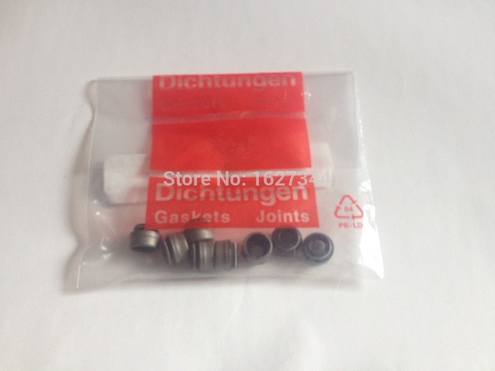 NEW Genuine 8Pcs 7mm Valve Stem Seals For VW Golf Jetta Beetle Passat For AUDI A4 2.0 1.9TDI 8V 027 109 675
