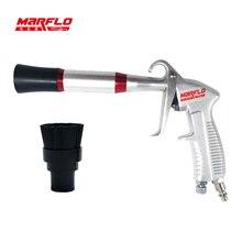 ФОТО marflo new tornador black air blow gun dry cleaning gun preto tornado pneumatic high quality car wash tools