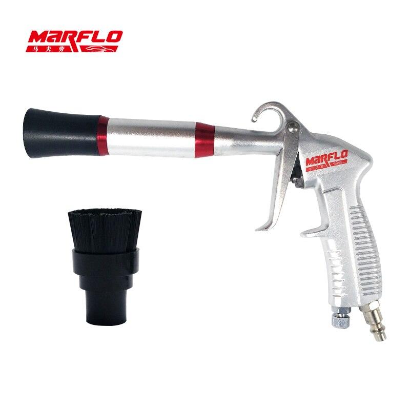 MARFLO nouveau pistolet de nettoyage à sec Tornador noir pistolet de nettoyage à sec Preto Tornado pneumatiques de haute qualité outils de lavage de voiture