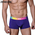 Men Modal Boxers Trunks Underwear 100% Soft Comfortale 7 Color for Choice(S M L XL)