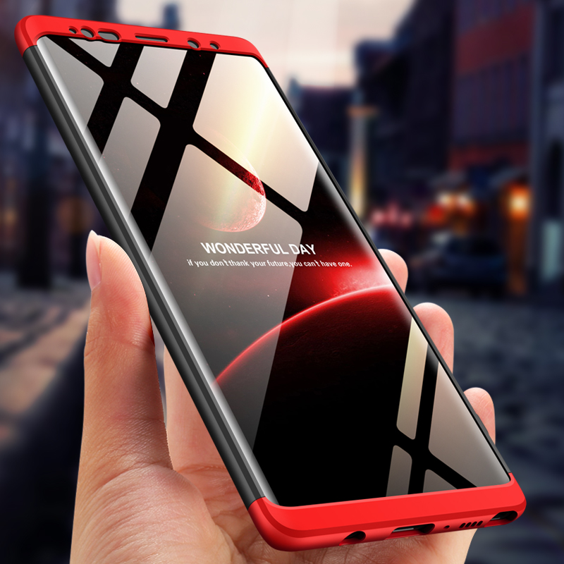 For Samsung Galaxy Note9 Case 360 Degree Full Luxury 3-IN-1 Shockproof Frosted Shield Hard Back Cover Case For Samsung Note9Case (10)