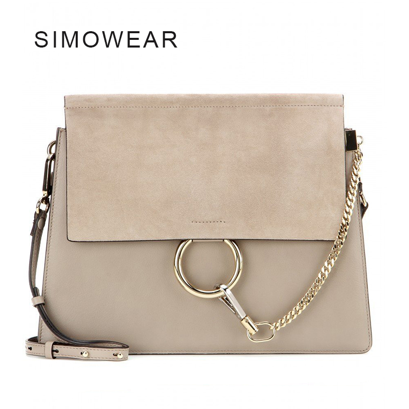 Hot Sale Popular Fashion Brand Design Women Genuine Leather Cloe Bag High
