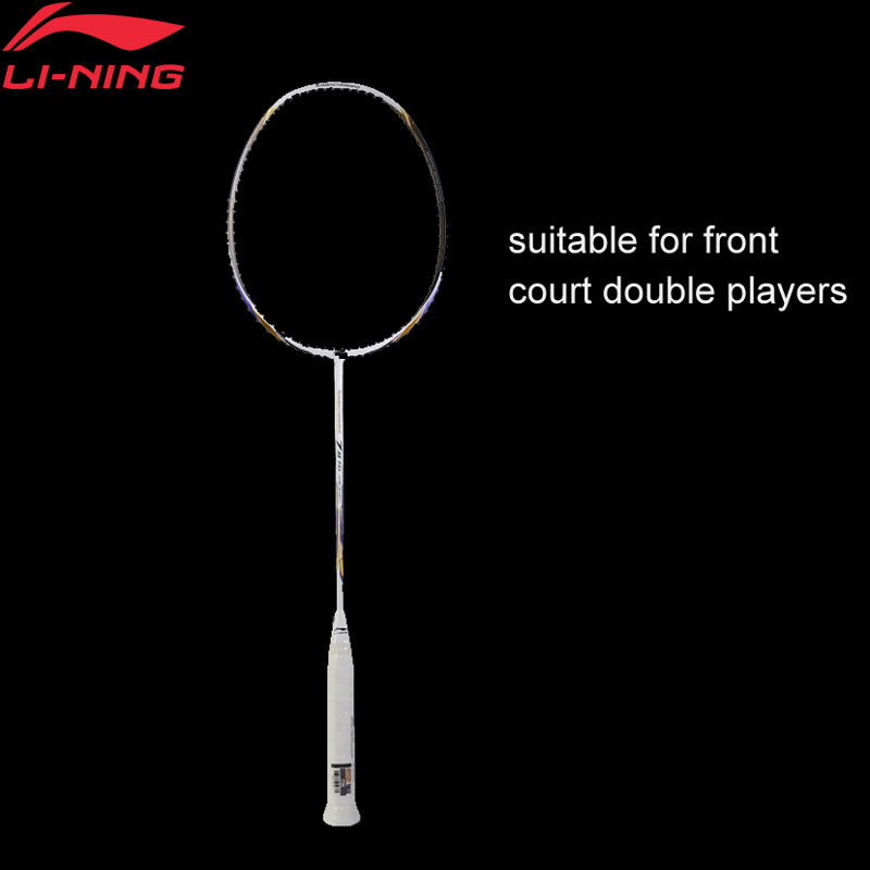 Li-Ning Turbo Charging 7II TD Badminton Racket Single Racket LiNing Racquet Professional Sports Accessory AYPM318 ZYF242