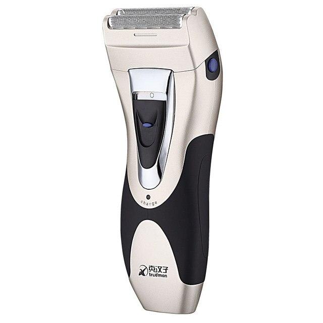 ترومان الحلاقة غسل نوع الترددية الحلاقة رجل الحلاقة اللحية سكين فرض نوع  الكروم الدقة الوجه الشعر