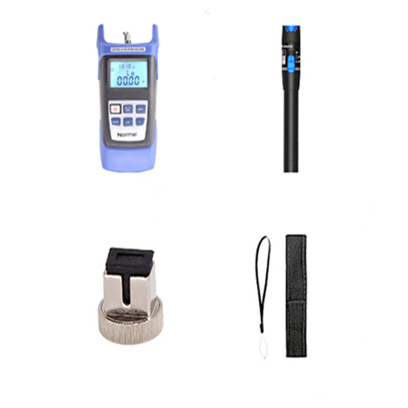 Image 4 - 2 in 1 FTTH Fiber Optic Tool Kit Fiber Optical Power Meter And  VFL 5km 1mW Visual Fault Locator Fiber Optic Pen free shipping-in Fiber  Optic Equipments from Cellphones