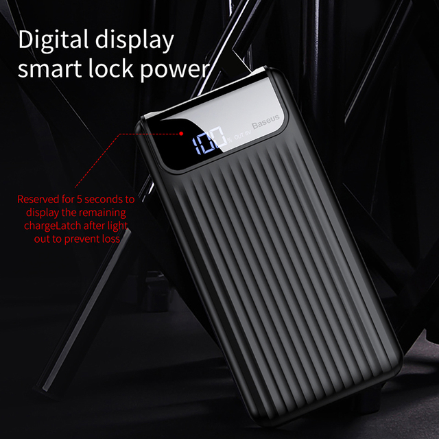 Quick Charge 3.0 Power Bank 10000mAh Dual USB s LCD