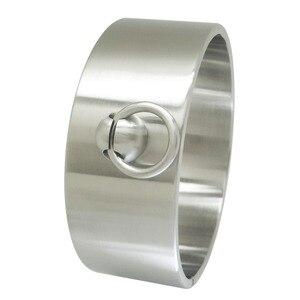 Image 2 - High quality heavy duty stainless steel lockable slave collar fetish wear choker sexual desire sex bondage restraint collar