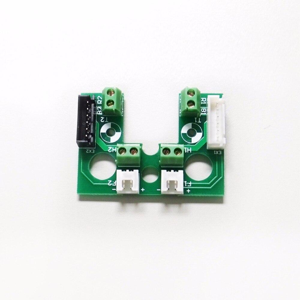 3D printer Parts 2 pcs*FLASHFORGE 3D printer Extruder Circuit Board for DIY 3D printer