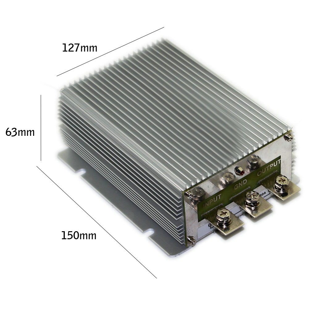 48V To 24V 40A 960W  Car Power Supply Converters DC DC Step Down Converter Regulator Module