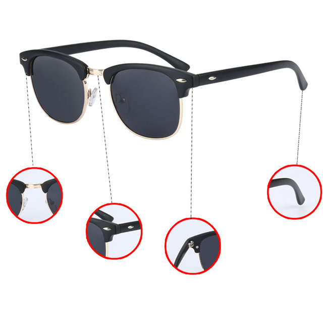 UV400 HD Polarized men women Sunglasses 3