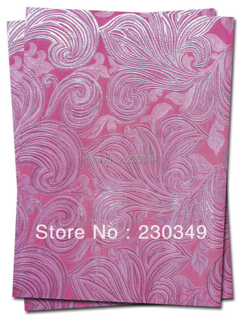 FREE SHIPPING!!!Newest style African headtie,Head Gear,Sego Gele&Ipele,Head Tie & Wrapper, 2pcs/set/bag No.0071 PINK Color