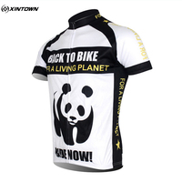 Hot Sales XINTOWN Team Panda Summer Cycling Sportswear Bicycle Bike Outdoor Jersey Breathable Shorts Sleeve Shirts